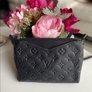 Louis Vuitton Empreinte Pallas Crossbody Clutch